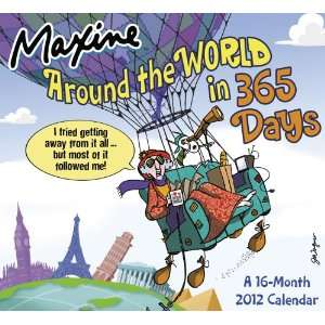 2012 Maxine Wall Calendar (9781423809791): Day Dream