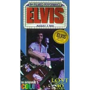PresleyElvis 1st Filmed Performance [VHS] Elvis Presley