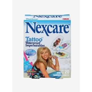 Tattoo Waterproof, Hannah Montana Bandages One Size, 20 ct Packages
