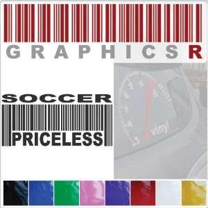 Barcode UPC Priceless Soccer Association Football Player A756   Pink
