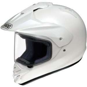 Sport Motorcycle Helmet Crystal White Large L 0114 0129 06 Automotive