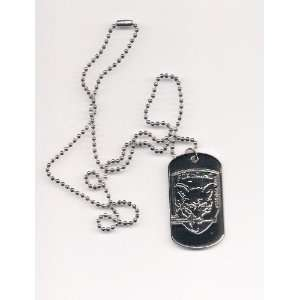 METAL GEAR SOLID 3 Snake Eater Fox Hound DOG TAG