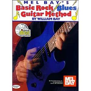 Mel Bays Basic Rock Blues Guitar Methods (9780786627745
