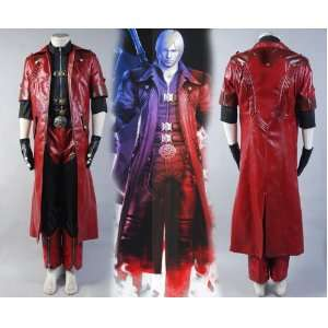 DMC Devil May Cry 4 Dante Cosplay Costume Custom Full Set