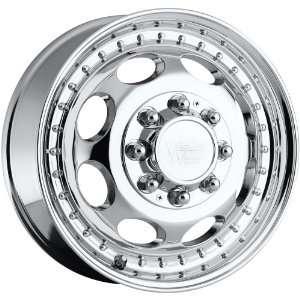 5x6.75 Vision Hauler Dually Front 8x170 Chrome Wheels Rims Inch 19.5