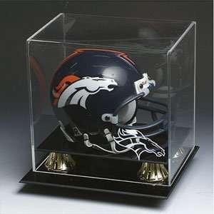 Denver Broncos NFL Full Size Football Helmet Display Case