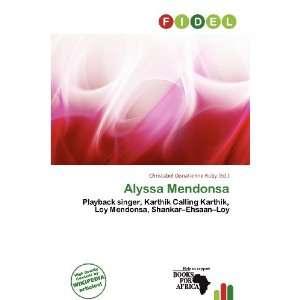 : Alyssa Mendonsa (9786200960290): Christabel Donatienne Ruby: Books