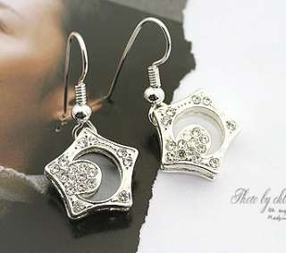 Boys Over Flower Kissing Star Moon Necklace 2 pieces