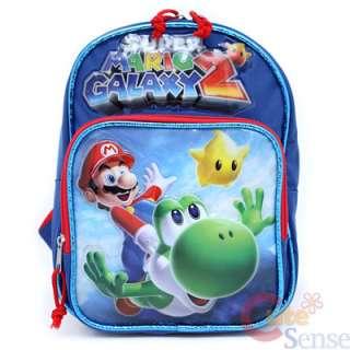 Super Mario Galaxy School Backpack Lunch Bag 1