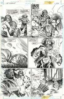 MICHAEL ZULLI Sandman PresentsLove St. #2 p22 ORIGINAL COMIC ART