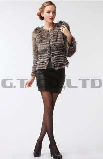 0305 women silver fox fur coat coats jacket jackets overcoat clothes