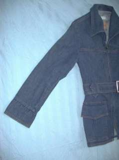 Vintage 70s Levis for Gals Belted Denim Jacket