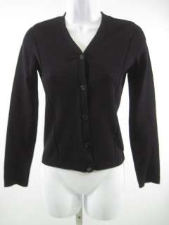 PHILLIP CHI Black Knit Long Sleeve Cardigan Sweater S