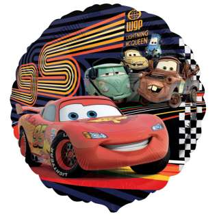 18 Disney Cars 2 Foil Balloon Birthday Party