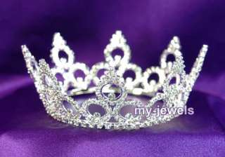 Bridal Party Pageant Crystal Tiara Crown T1022