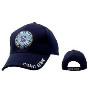 United States Coast Guard BLUE Baseball Cap, U.S. Navy Military Hat