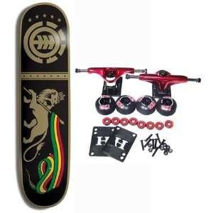 ELEMENT SKATEBOARDS Complete Skateboard CASCADE RASTA With