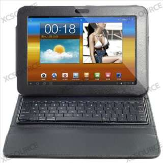 Leather Case Cover Bluetooth Keyboard for Samsung Galaxy Tab P7300