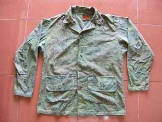 War ARVN ERDL Camouflage 101st Airborne Paratrooper Souvenir Shirt #39