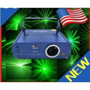 Brand New 50mw Green Dj Laser Light Show Sound Active