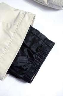 EWS Obermeyer Light Grey Snow Board Ski Pants Junior Size 12