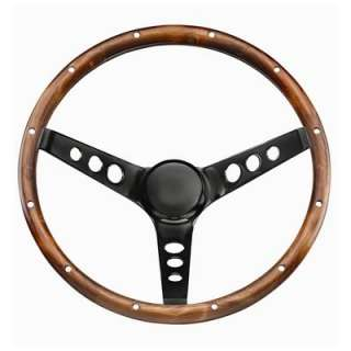 Grant Classic Wood Steering Wheel 13.5 Dia 3 Spoke 3.75 Dish 313
