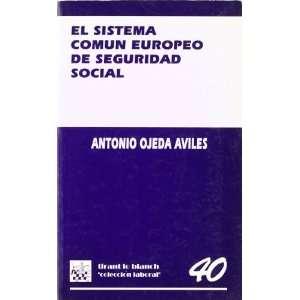 ) (Spanish Edition) (9788480024228) Antonio Ojeda Aviles Books