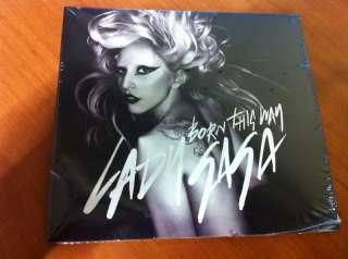 Brand New Lady Gaga Born This Way Single + Remix CD