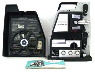 Bell & Howell Director Dual Lectric 8mm Projector 460