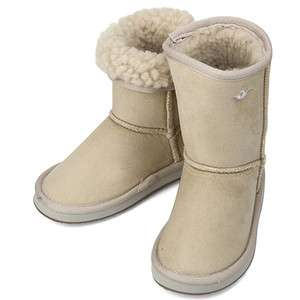 New Trend Pretty Ivory Winter Snow Warm Girls Boots Shoes