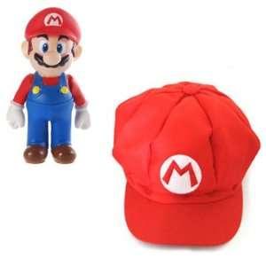 Super Mario Bros Mario Cotton Elastic Hat Everything