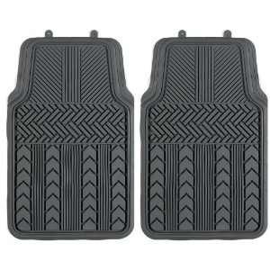 Impulse Merchandisers 44165 Heavy Duty Winter Gray Floor Mat Set   2