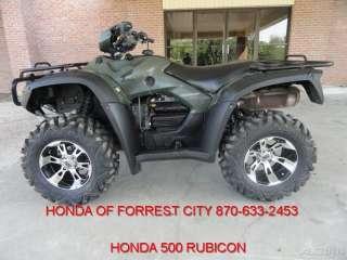HONDA FOREMAN 500 RUBICON FOURTRAX TRX500FA USED ATV QUAD UTILITY
