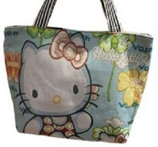 Hello Kitty Canvas shoulder handbag Luggage Bag purse Wallet tote 18