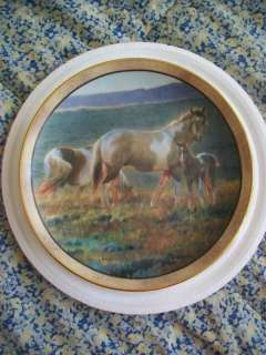Danbury Mint Welcome The Dawn Plate Wild And Free Horse