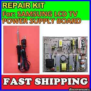 SAMSUNG LCD TV REPAIR KIT + SOLDERING TOOL for BN44 00167A SIP400B PS