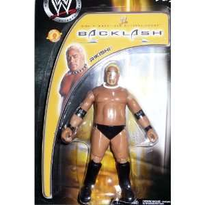 RIKISHI   WWE WWF Wrestling Exclusive Backlash Toy Figure