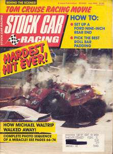 VINTAGE STOCK CAR RACING MAGAZINE JULY 1990