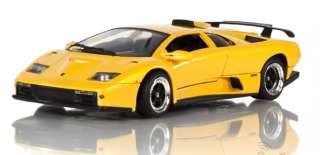 73168 YELLOW 118 SCALE LAMBORGHINI DIABLO GT DIECAST MODEL CAR