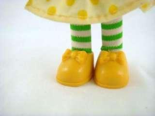 Strawberry Shortcake Friend Lemon Meringue Doll With Yellow Bows