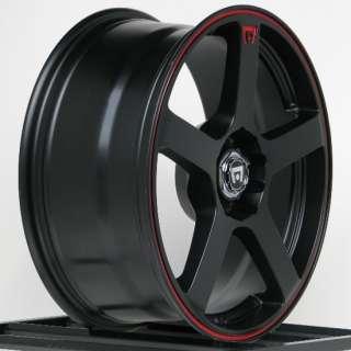 16 in Wheels Rims Cobalt Honda Civic Fit Chevy Cobalt 4 lug Motegi