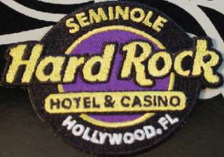 seminole hard rock hotel casino hollywood fl 2009 classic logo iron on