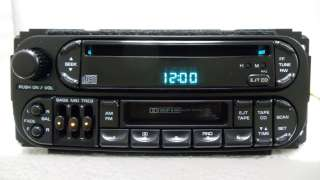 Dodge Avenger Jeep Chrysler Radio Tape CD Player 1998 1999 2000 2001