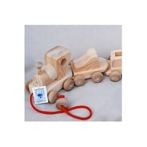 Wooden Toy Train Set: Toys & Games