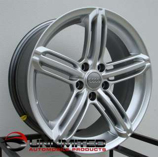 19 RS6 Wheels Rims Fit Audi B5 B6 B7 A3 A4 1.8t 2.0t