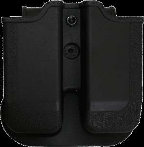 DOUBLE MAGAZINE POUCH PADDLE STYLE TAURUS 24/7 .40 S&W LIGHTWEIGHT