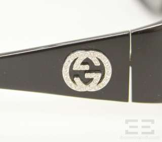 Gucci Black Rhinestone Logo Sunglasses GG 2527/S