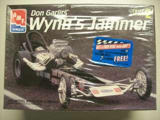 AMT ERTL 1/25 Wynns Jammer Don Garlits Model Kit NEW