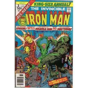 Iron Man Annual #3 Comic Book Everything Else