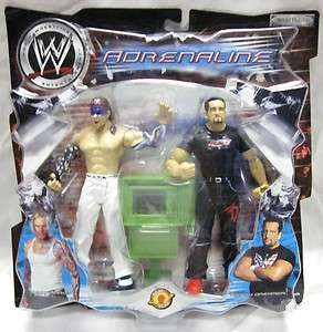 WWE Jakks JEFF HARDY & TOMMY DREAMER Figure 2 Pack ADRENALINE Series 1